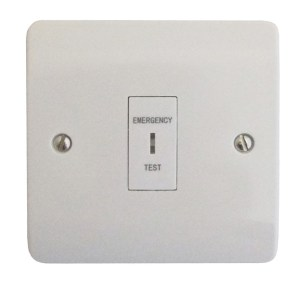 Single Gang Emergency Lighting Test Switch  Discount Fire