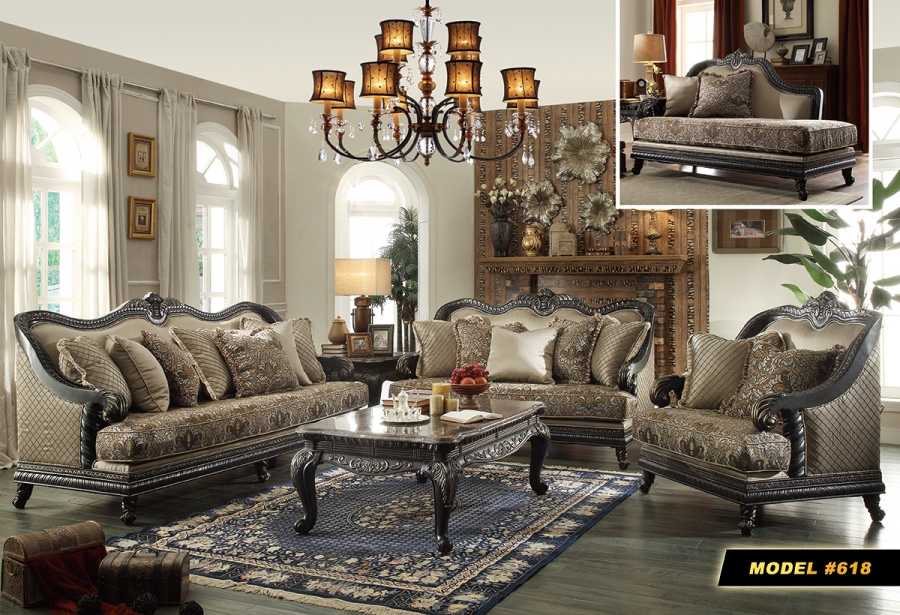Meridian Florence 2 Piece Living Room Set