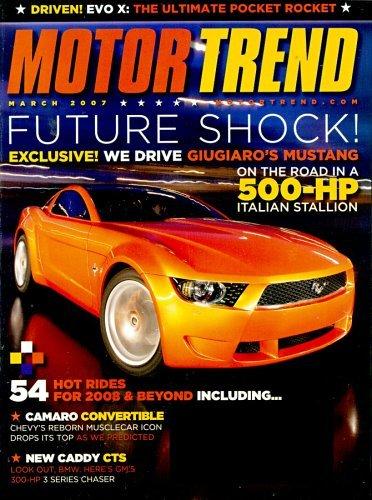 Motor Trend Magazine Cover