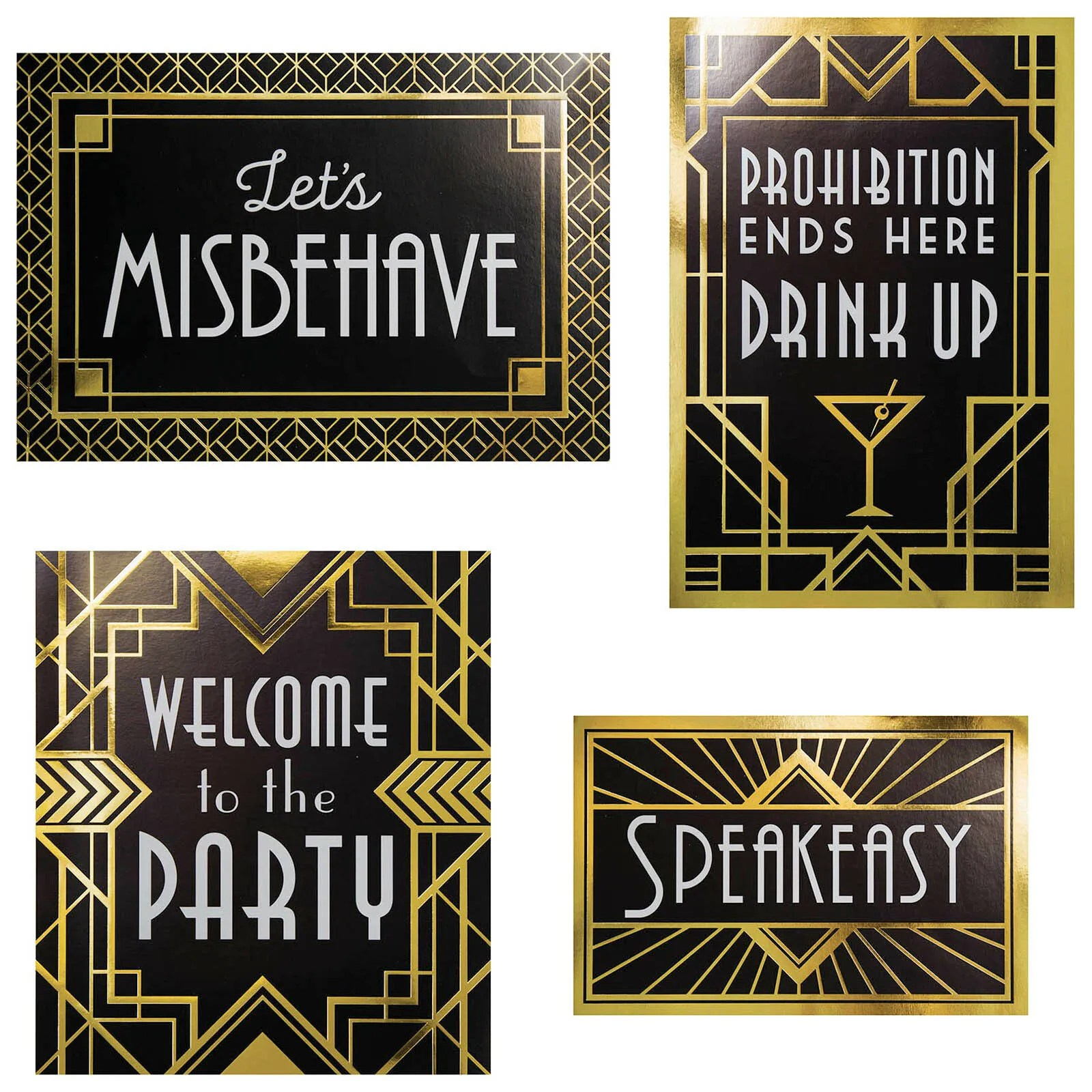 Roaring 20s Art Deco Great Gatsby Gangster S Party 4