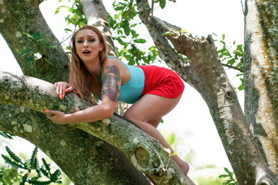 Xeena Mae Girl On Treetop - StrandedTeens discount