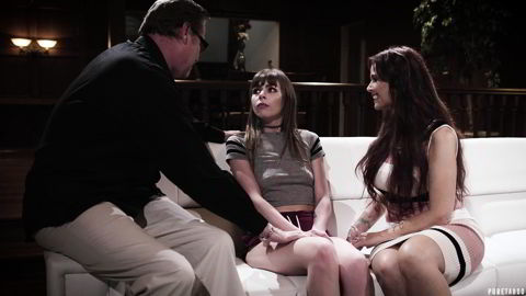 Alex Blake, Syren De Mer - Swapping Daughters - Parents use exchange program to swap daughters and start fake family