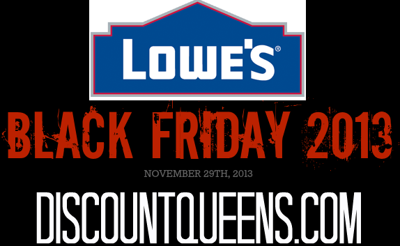 Lowes Black Friday Ad 2013