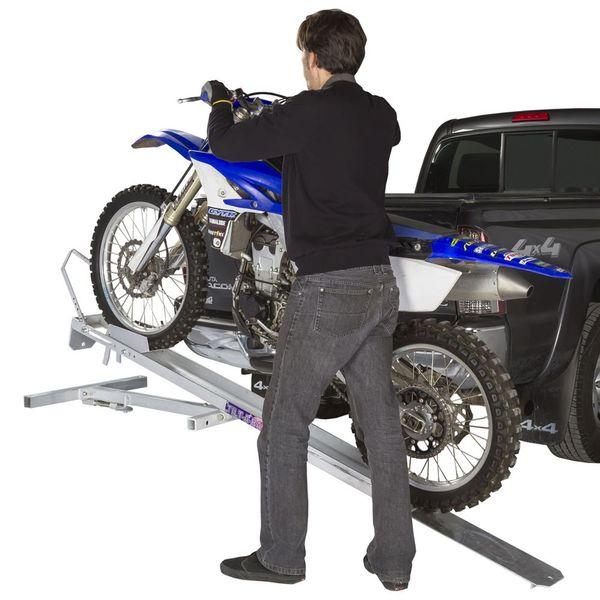 hitch mounted tilt a rack aluminum