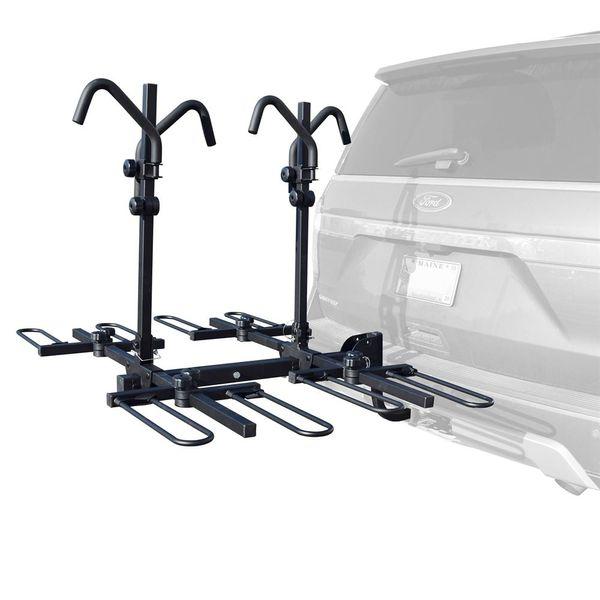 4 bike car rack malone hitch mount platform bike carrier