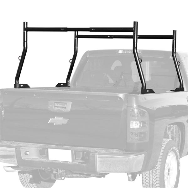 elevate outdoor deluxe dual support pickup truck bed ladder utility rack