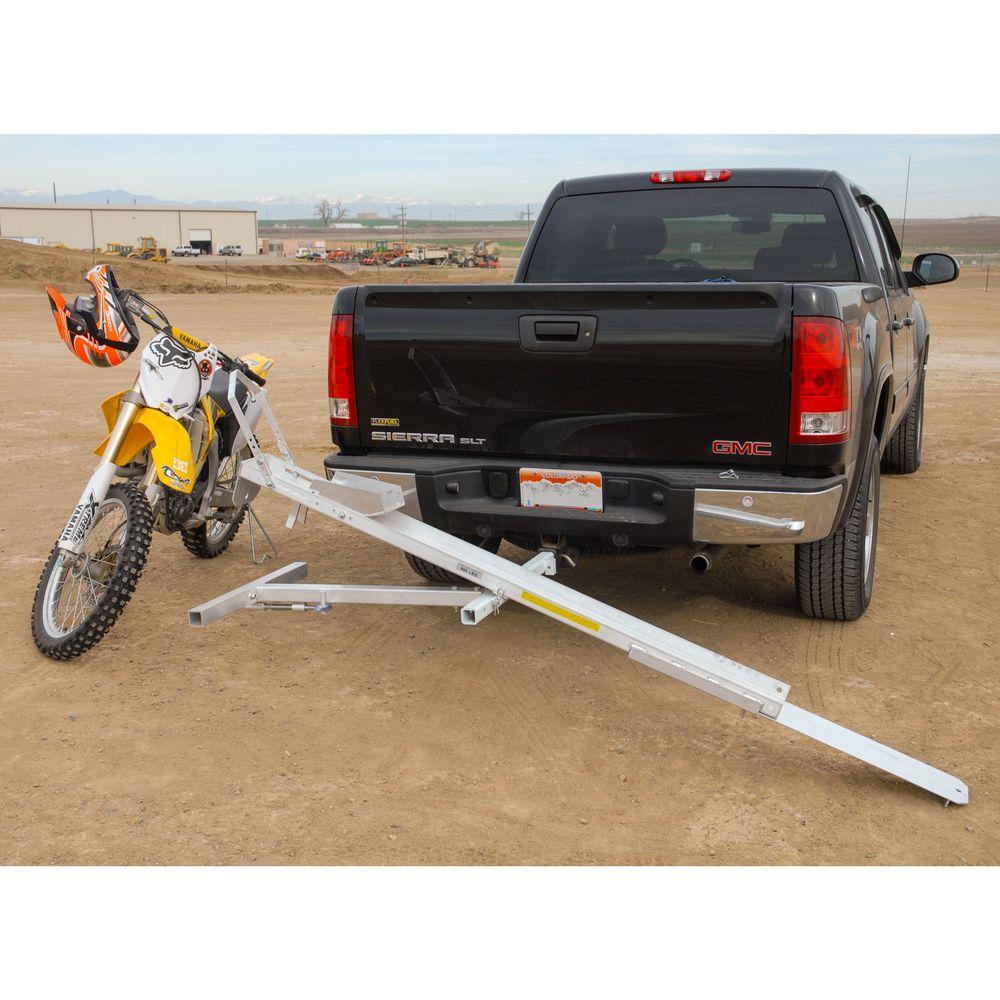 tilt a rack aluminum tilting motorcycle carrier