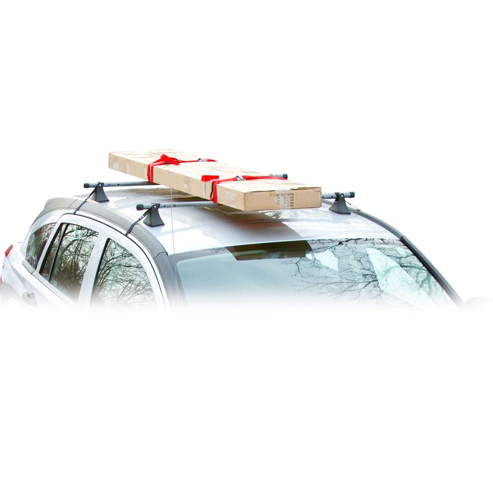 apex steel universal strap attached roof cross bars