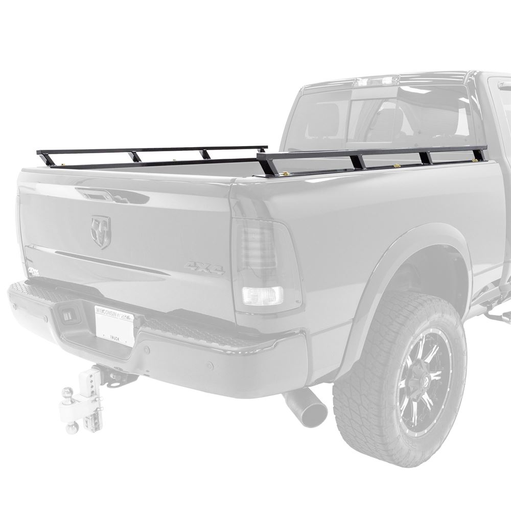 apex steel truck bed side rails set of two