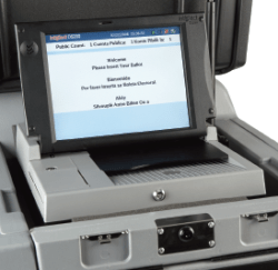 DS200 Voting Machine