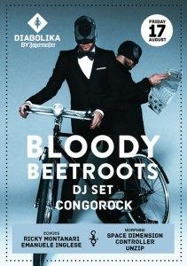 Bloody Beetroots Cocorico 17 Agosto 2012