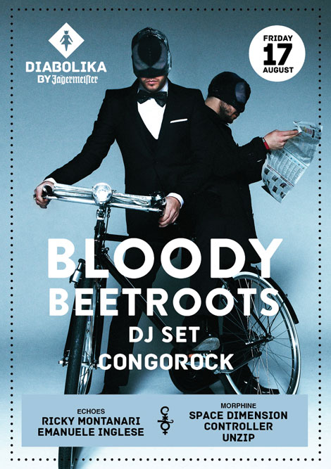 Bloody Beetroots Cocorico 17 Agosto 2012