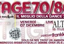 Venerdì 7 Dicembre ultima serata Vintage del 2012 alla Baia Imperiale