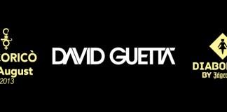 David Guetta 2 Agosto 2013 in Italia al Cocorico Riccione