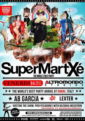 Il SuperMartxé Venerdi 16 Agosto all'Altromondo di Rimini