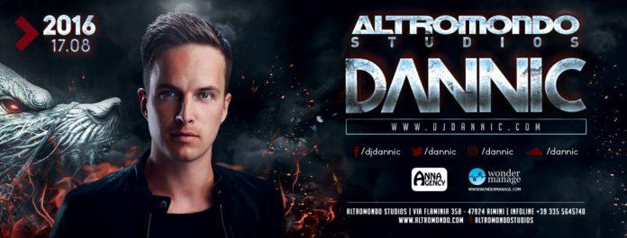 Mercoledì 17 Agosto 2016 special guest Dannic discoteca Altromondo