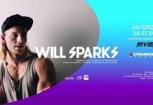 Sabato 28 Luglio Dj Will Sparks all'Altromondo Studios (Rimini)