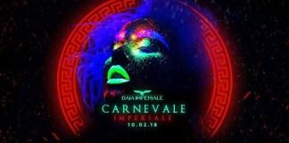 Sabato 10 Febbraio super party Carnevale 2018 Baia Imperiale