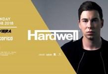 Lunedi 13 Agosto 2018 Hardwell per la prima volta al Cocorico