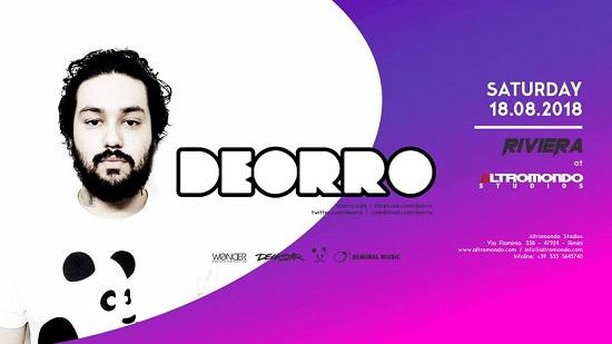 Special night con Deorro Sabato 18 luglio 2018 all'Altromondo Studios di Rimini