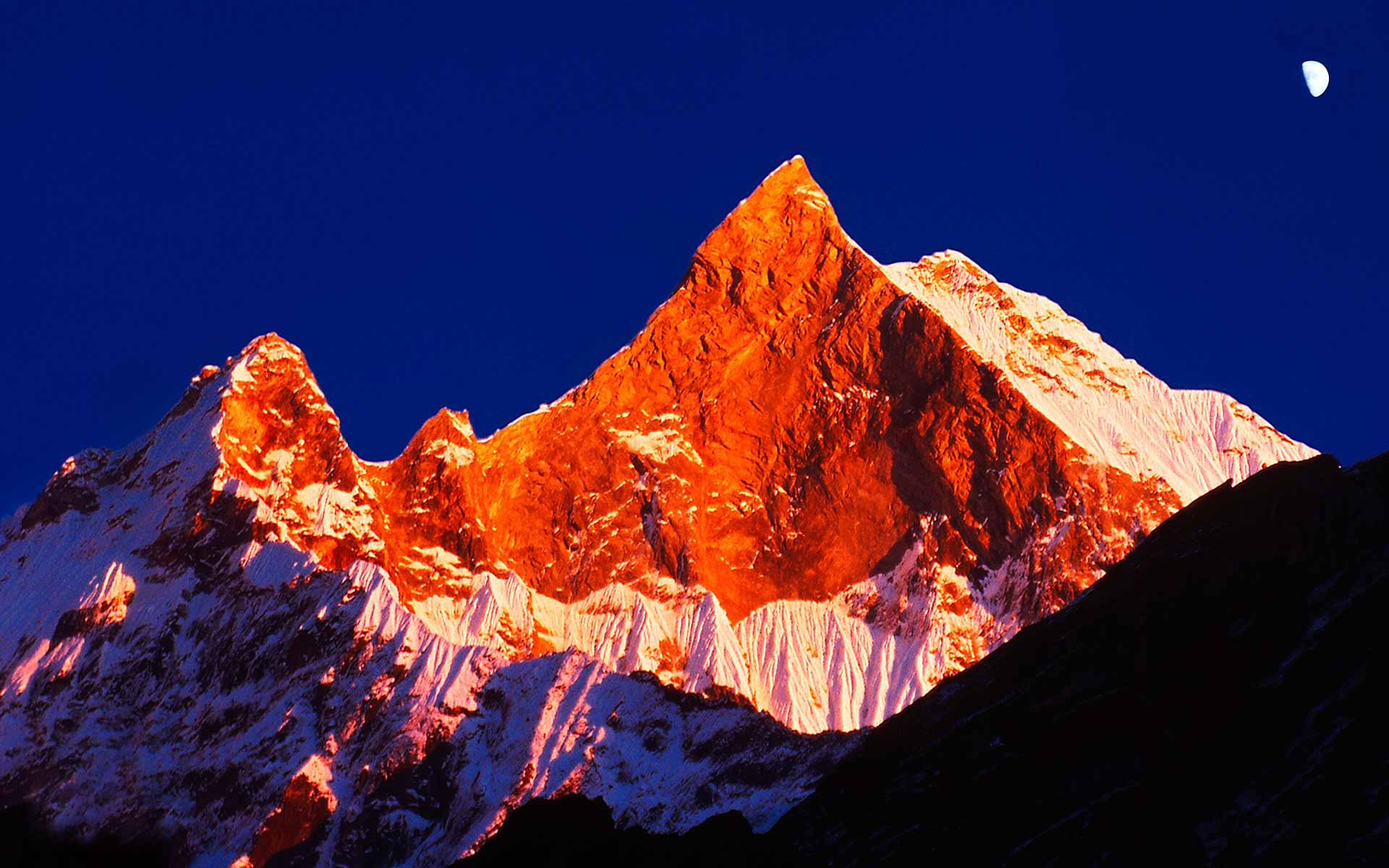 Norbert Klora Photo Machapuchare, Nepal, Trekking