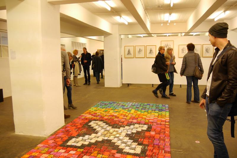 Vernissage Exhibition Ausstellung SPUREN:FINDER Norbert Klora Burchard Vossmann