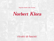 Norbert Klora, exhibition catalog, ARCI del Trentino, 2001, Nago, Ceske Budejovice, Iseo, contemporary art, painting, drawing, printing