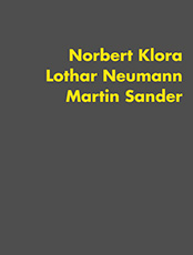 Norbert Klora, exhibition catalog, Galerie Schlehn, 1992, contemporary art, painting, drawing, printing