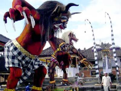 Ogoh ogoh Festival to Welcome the Nyepi Day in Bali ...
