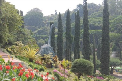 Selecta Batu Malang flower garden