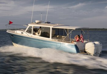 Cuddy Cabin Discover Boating