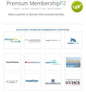 Milepoint Premium Membership Offer