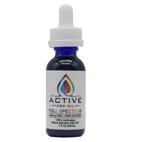 Active Water Soluble Full Spectrum 300mg