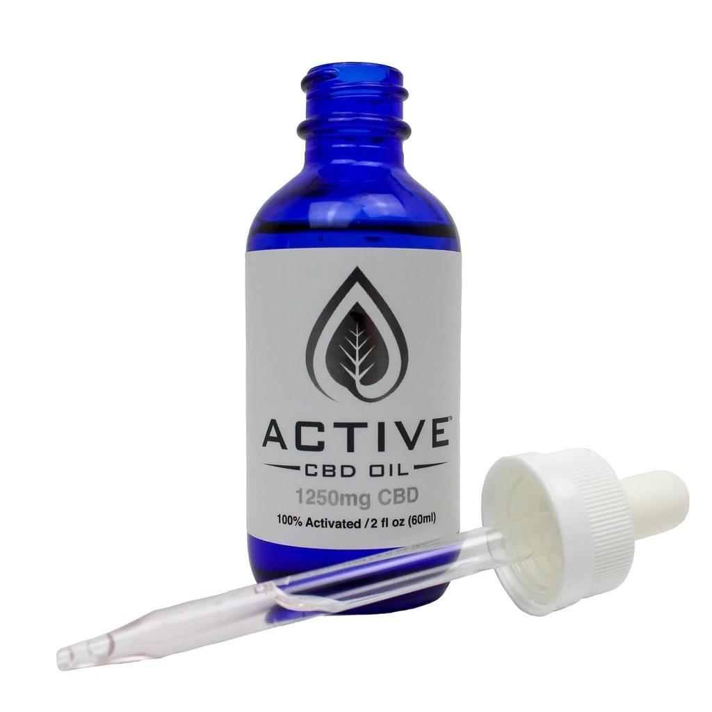 Active CBD/MCT Tincture 1250mg