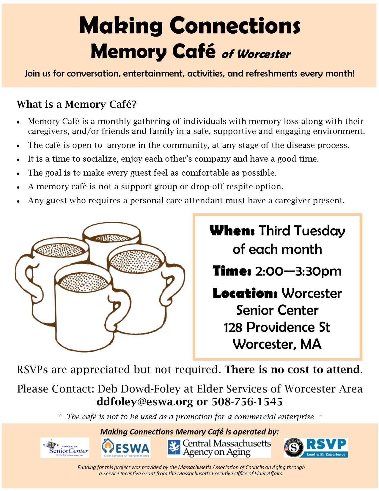 Making Connections Memory Cafe