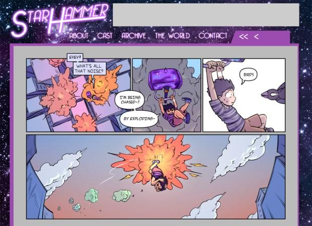 StarHammer Homepage