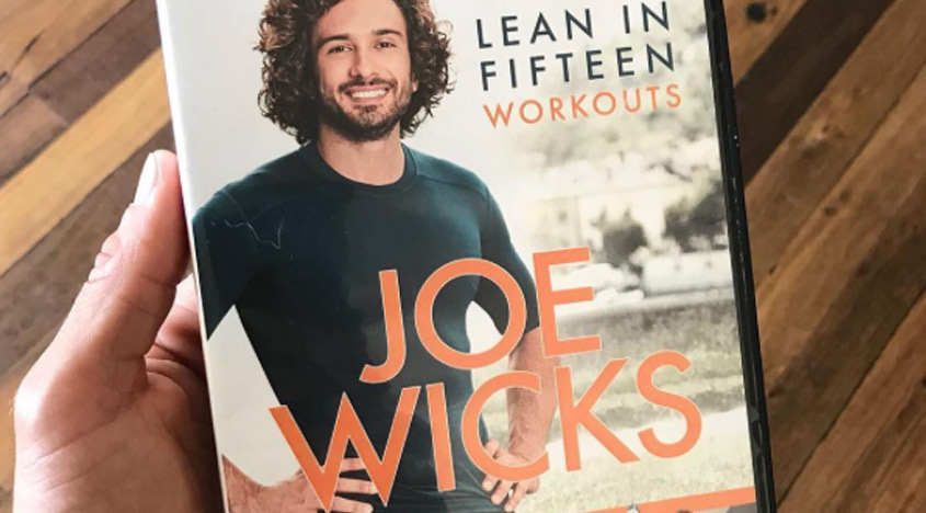 Joe Wicks on Lake Como