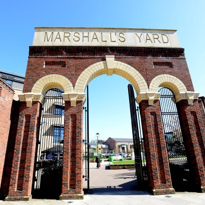 Marshall's Yard Entrance