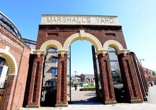 Marshall's Yard Entrance