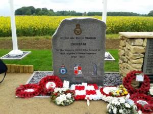 Memorial to RAF Ingham