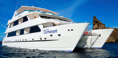 Galapagos cruise and tour aboard the Cormorant