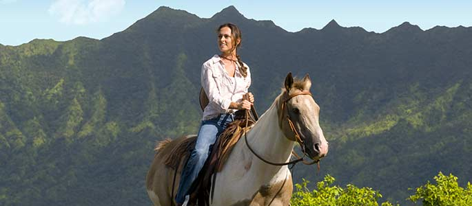 Horseback Riding at Kualoa Ranch