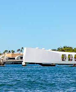 USS Arizona Memorial and Aloha Stadium Swap Meet