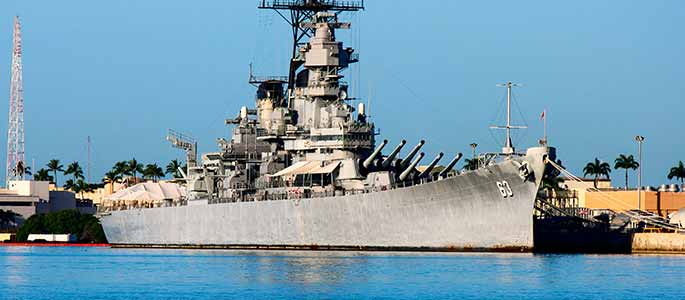 Guided Tour of the Battleship Missouri