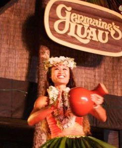 Hawaiian Music & Dancers