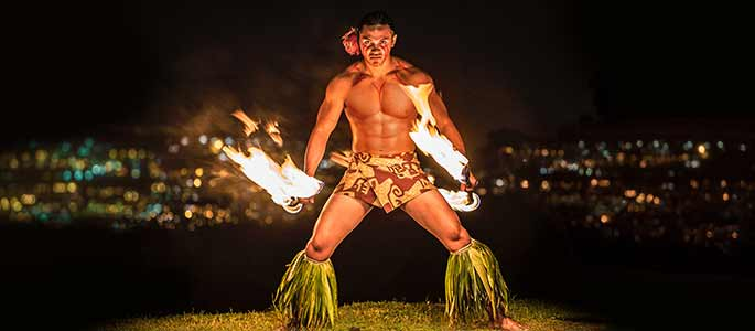 Enjoy a night of fire and dance under the stars