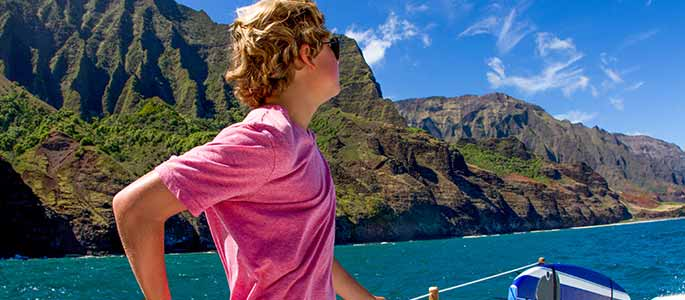 Endless Picture Opportunities During Your Na Pali Coast Tour