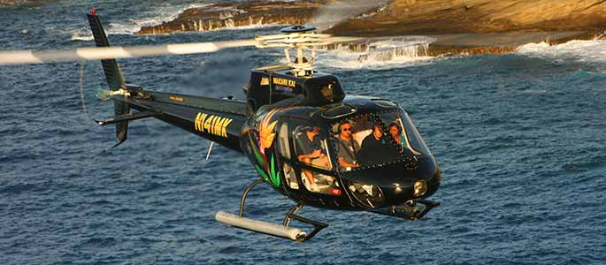 Pali-Makani Helicopter