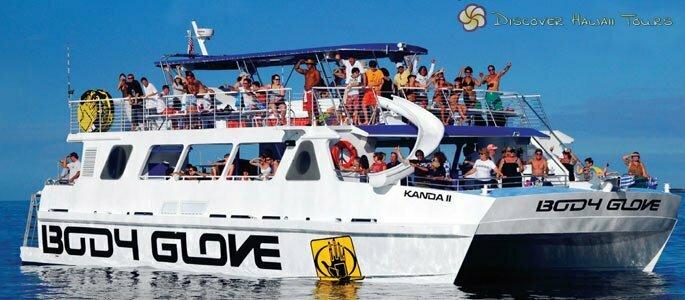 Kanoa II - Body Glove Cruises Deluxe Ocean Catamaran