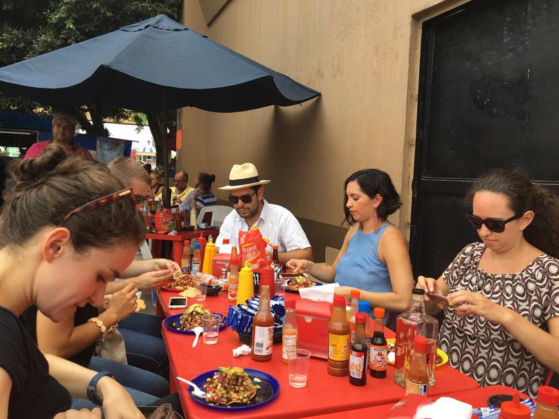 Looking forward to the seafood tostada - Tijuana